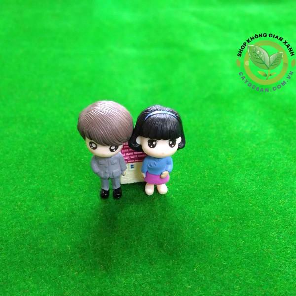 Phụ kiện mini - Cặp đôi sườn xám